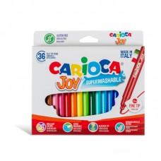 Μαρκαδόροι Carioca Super Joy 36 χρωμάτων.