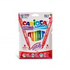 Μαρκαδόροι Carioca Birello 12 χρωμάτων.