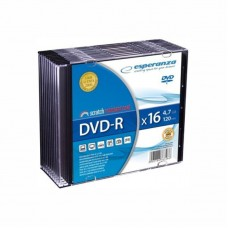 Dvd-R 4,7 Gb 16X Esperanza Slim Case