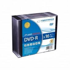 Dvd-R 4,7 Gb 16X Esperanza Slim Case