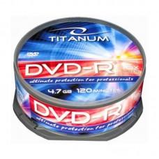 Dvd-R 4,7 Gb 16X Titanum Cake Box 25