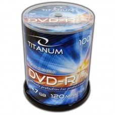 Dvd-R 4,7 Gb 16X Titanum Cake Box 100