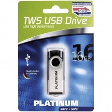 Flash Usb Stick 3.0 Platinum Tws (16 Gb) Superspeed