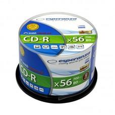 Cd-R 700 Mb 52X Esperanza Cake Box 50