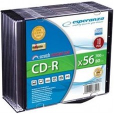 Cd-R 700 Mb 52X Esperanza Slim Case