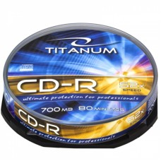 Cd-R 700 Mb 52X Titanum Cake Box 10