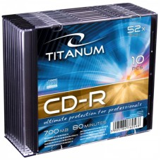 Cd-R 700 Mb 52X Titanum Slim Case