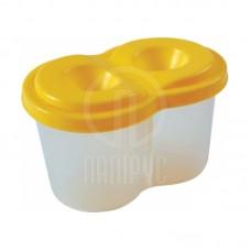 Δοχείο Πλαστικό Πινέλων Economix 2 Θέσεων