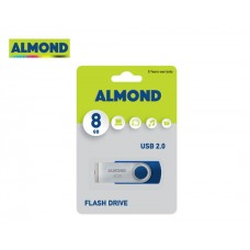 FLASH DRIVE USB 8/16/32 GB TWISTER ALMOND