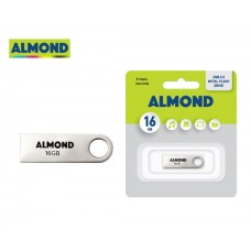 FLASH DRIVE USB 16/32 GB ΜΕΤΑΛΛΙΚΟ MINI ALMOND