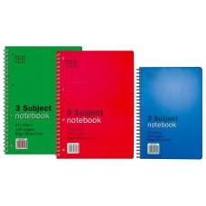 Next Notebook Τετρ. Σπιράλ 14X21Εκ. 3Θεμ. 300Σελ.